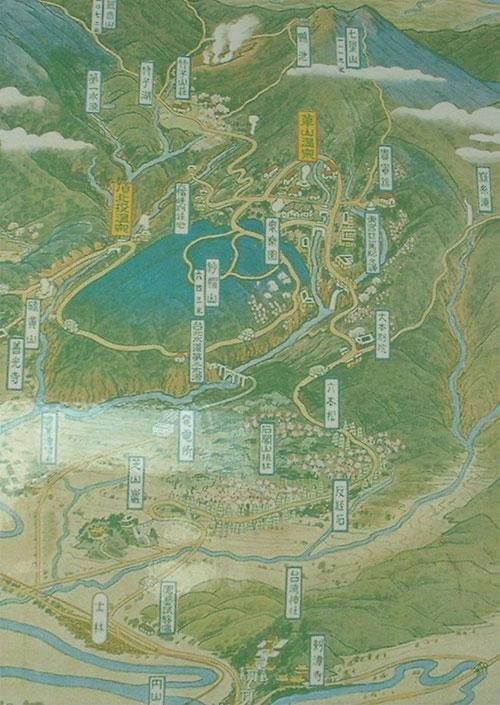 台湾(草山)別院の地図